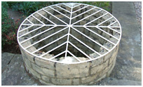 Ornamental Well Cover